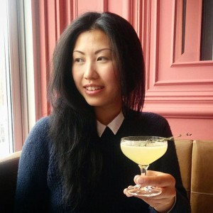 Evelyn Chick and her Bacardi Legacy Cocktail, Just In Thyme